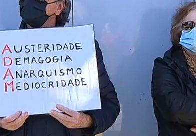 Descontentamento com a ADAM leva protestos para a porta das autarquias